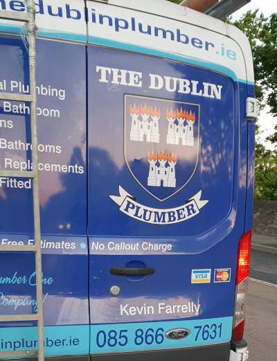 Dublin Plumber Van